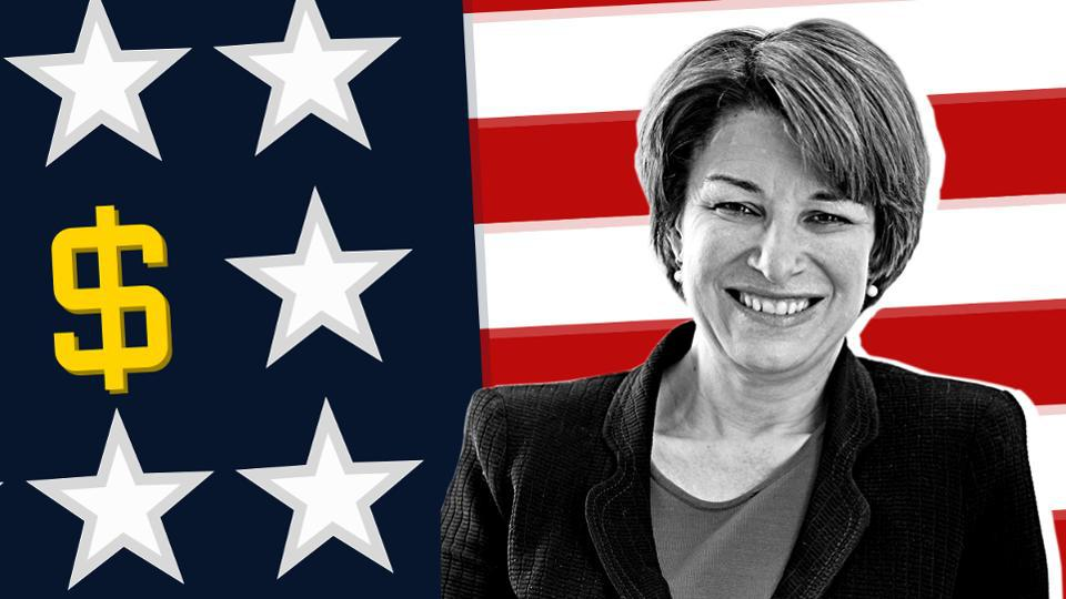 Klobuchar, 59, and her husband, John Bessler, 51, are in a comfortable financial position. Forbes estimates the couple shares a $2 million net worth