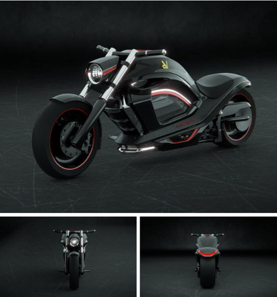 Davinci Falco Electric Motorcycle