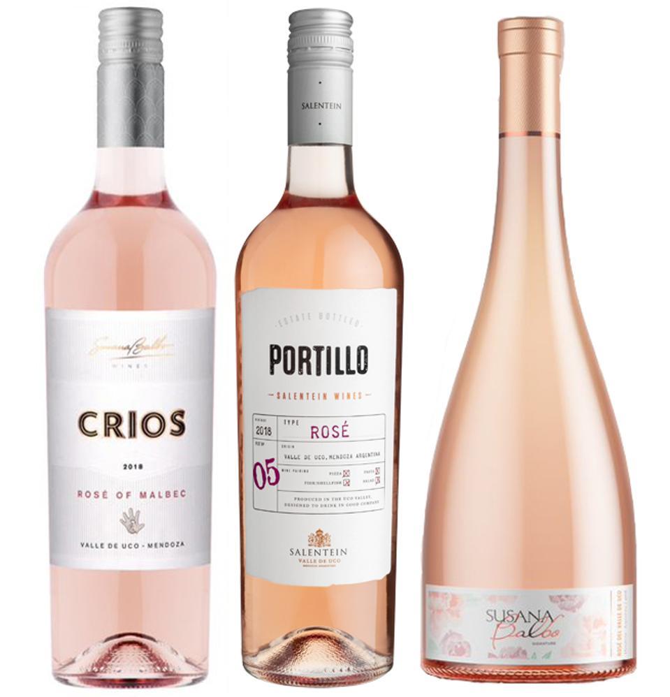 Rosés from the Mendoza Valley.