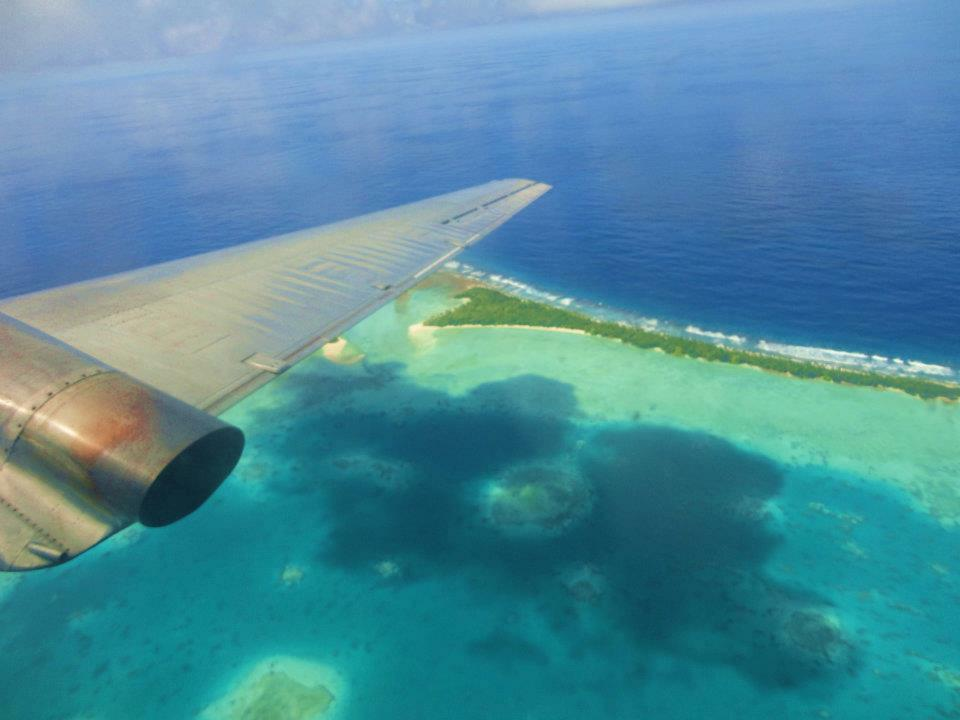 Stunning nature and coral reefs surround the island