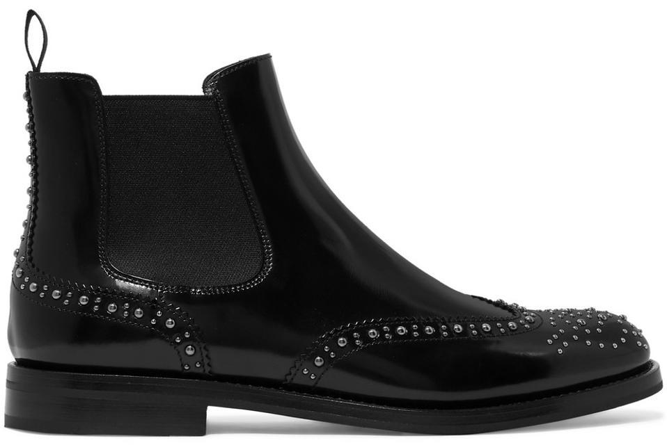 Chelsse čevlji iz bleščečega usnja iz cerkve Ketsby Met