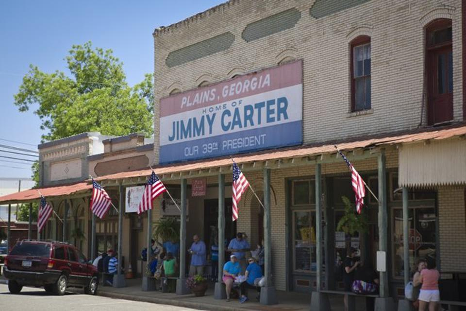 Plains.  Jimmy Carter.  Presidential Campaign.
