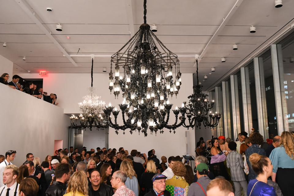 The new 75,000-square-foot space features a chandelier by Fred Wilson.