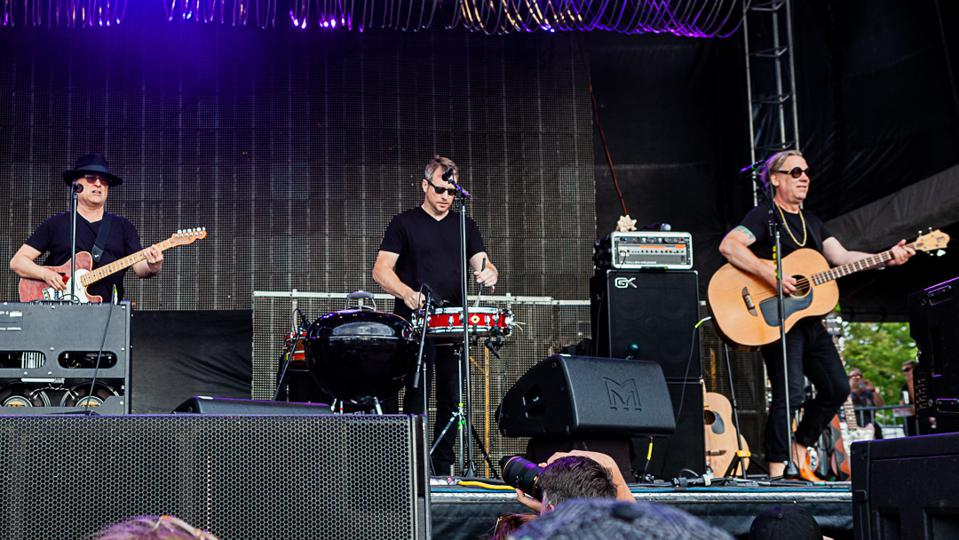 Violent Femmes perform during Riot Fest's 15th anniversary weekend. Friday, September 13, 2019 at Douglas Park in Chicago (Photo by Philamonjaro Studio)