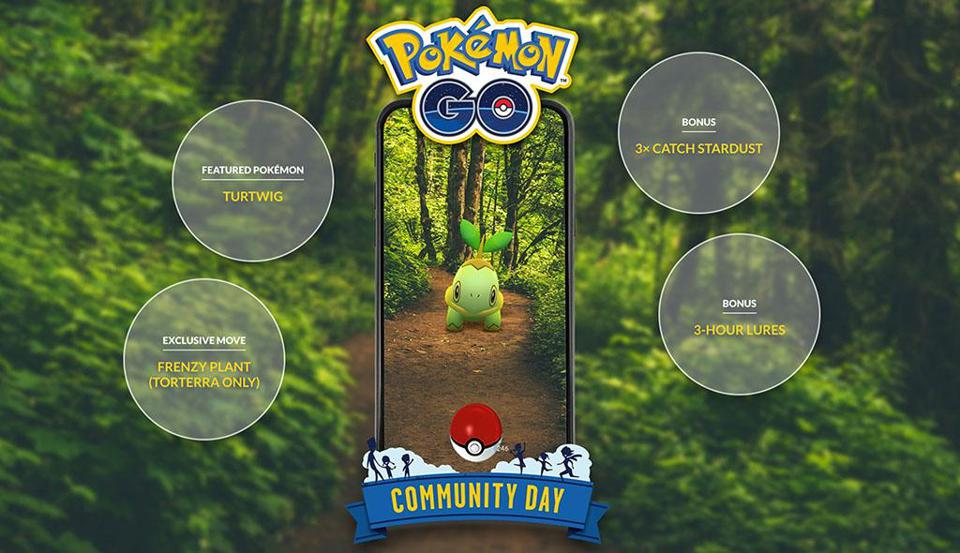 Pokemon GO: A Warning About Today's Turtwig Community Day Start Time