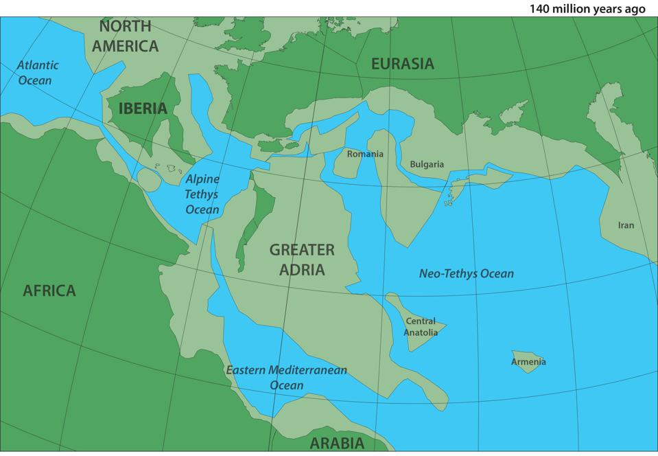 Goodbye Atlantis, Hello 'Greater Adria'. A Lost Continent Has Been Mapped By Geologists