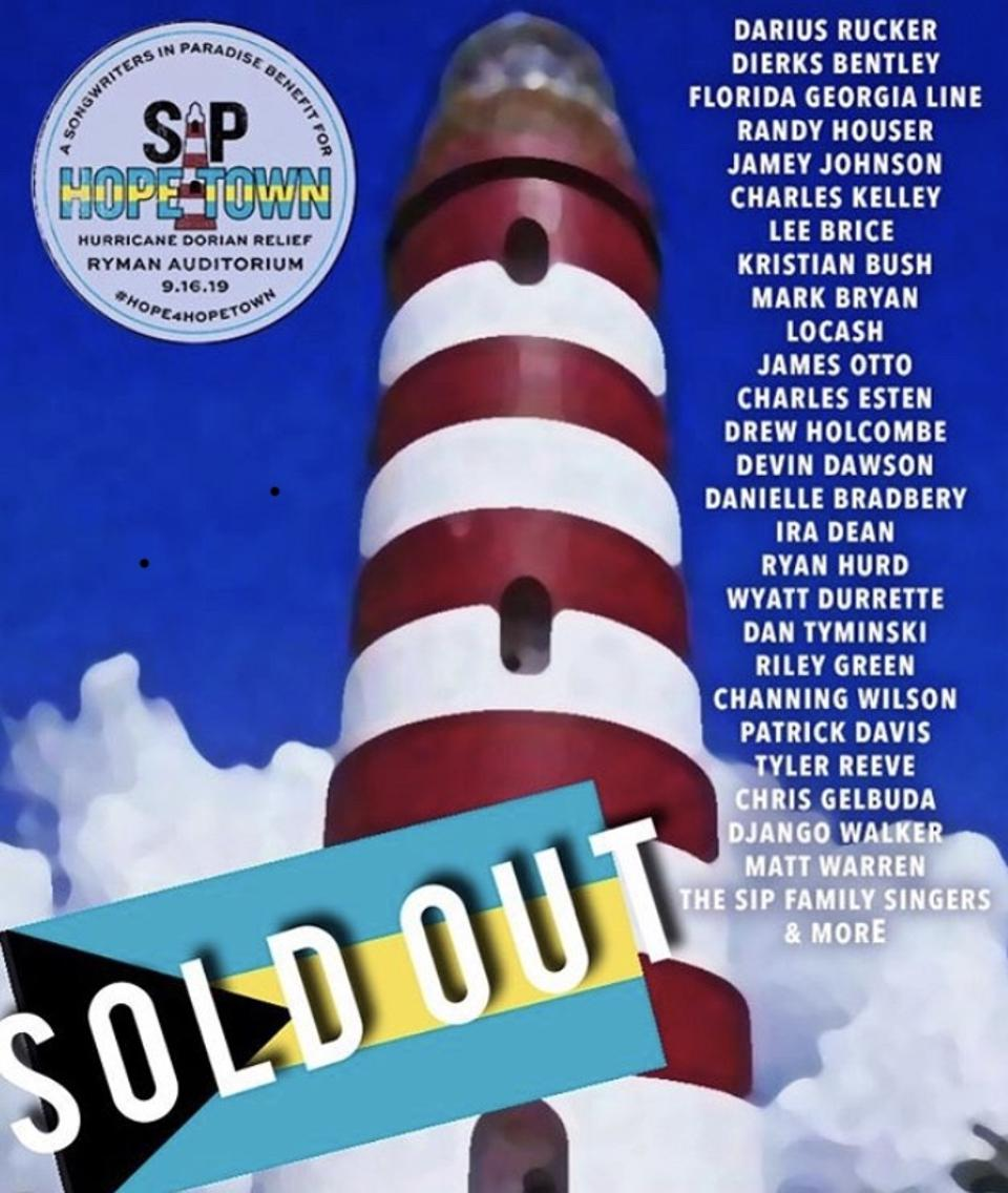 Songwriters in Paradise Benefit Show