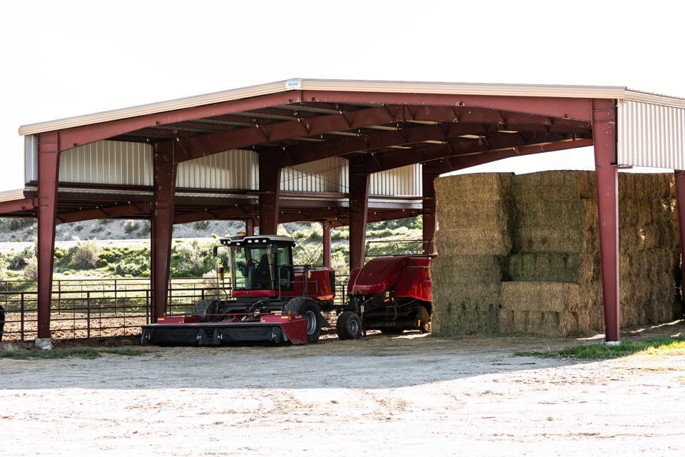 干し草の納屋