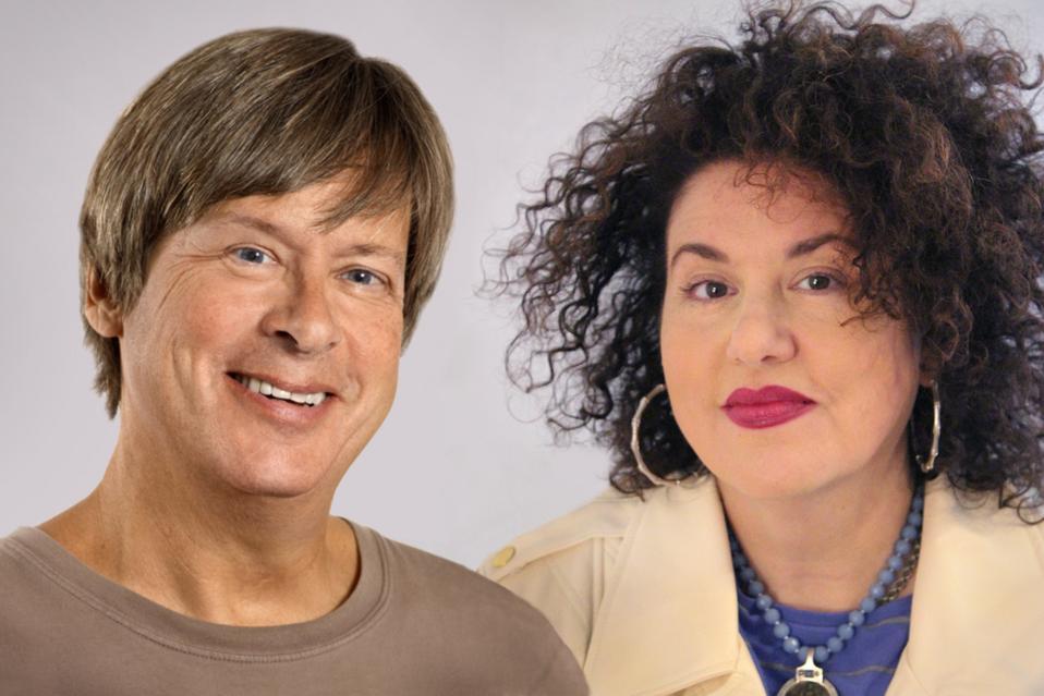 Dave Barry and Adriana Trigiani