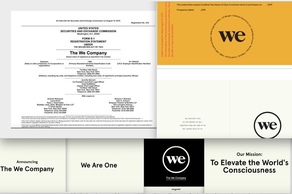 WeWork, WeCo., SEC, IPO, Adam Neumann, Steven Langman, Masayoshi Son, SoftBank, VisionFund