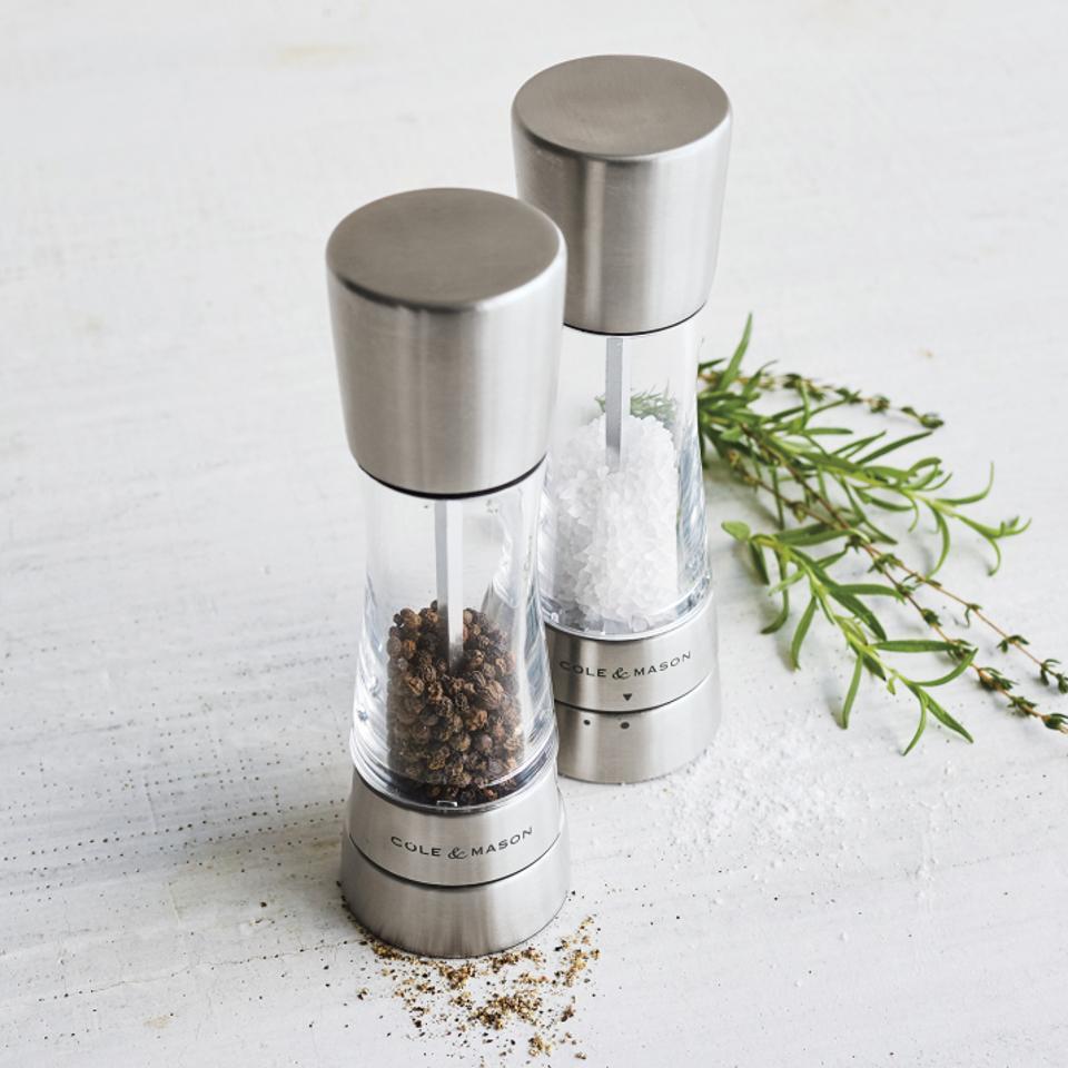 Cole & Mason salt and pepper grinder
