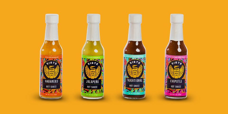 Siete's bottled salsas