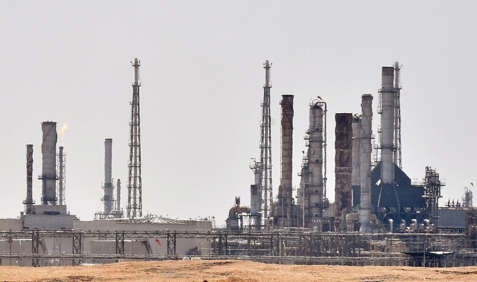 Saudi Arabia raced today to restart operations at oil plants hit by drone attacks which slashed its production by half.