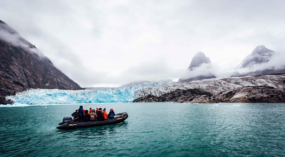 Arctic expedition with HSH Prince Albert II with Students on Ice