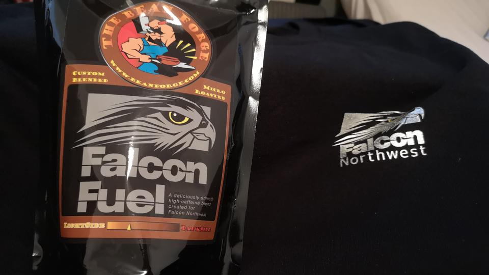 Falcon Fuel (and a T-Shirt)
