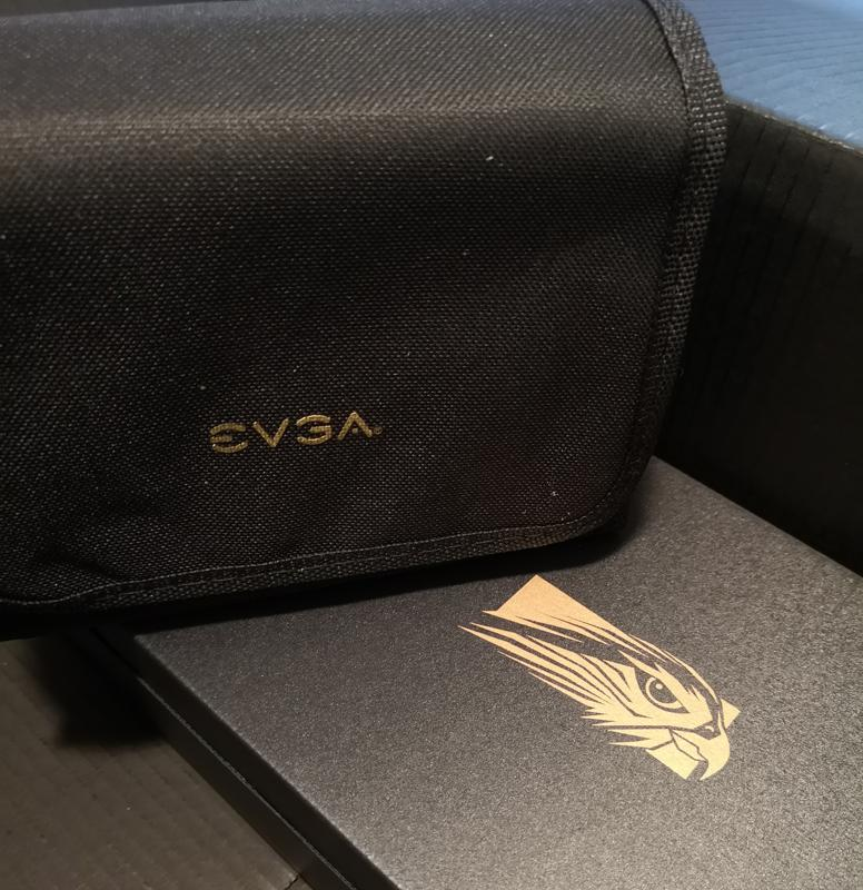 EVGA cable + accessory bag, plus yet another box?