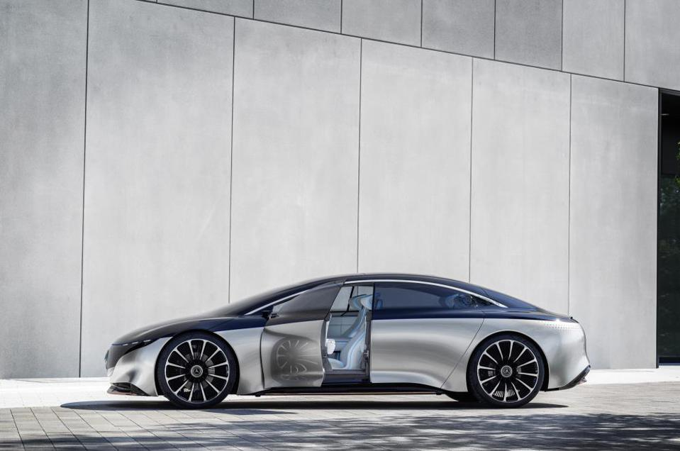 Frankfurt Motor Show Futurism, From Audi, Mercedes and BMW