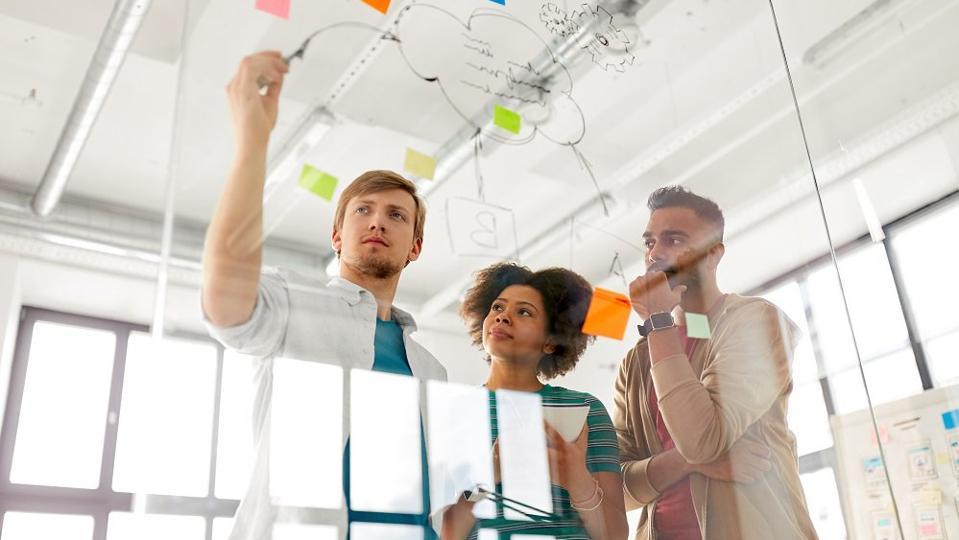 startup planning concept
