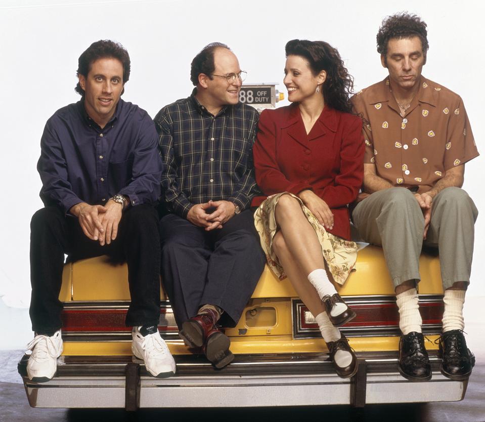 Jerry Seinfeld, Jason Alexander, Julia Louis-Dreyfus, Michael Richards, Netflix starting 2021, new deal