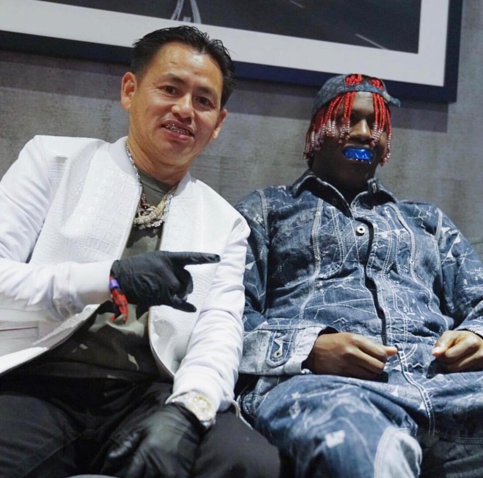 Johnny Dang with rapper, Lil Yachty