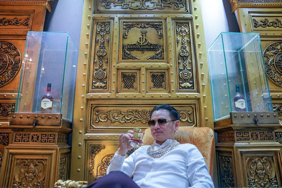 Johnny Dang in his office at Johnny Dang & Co