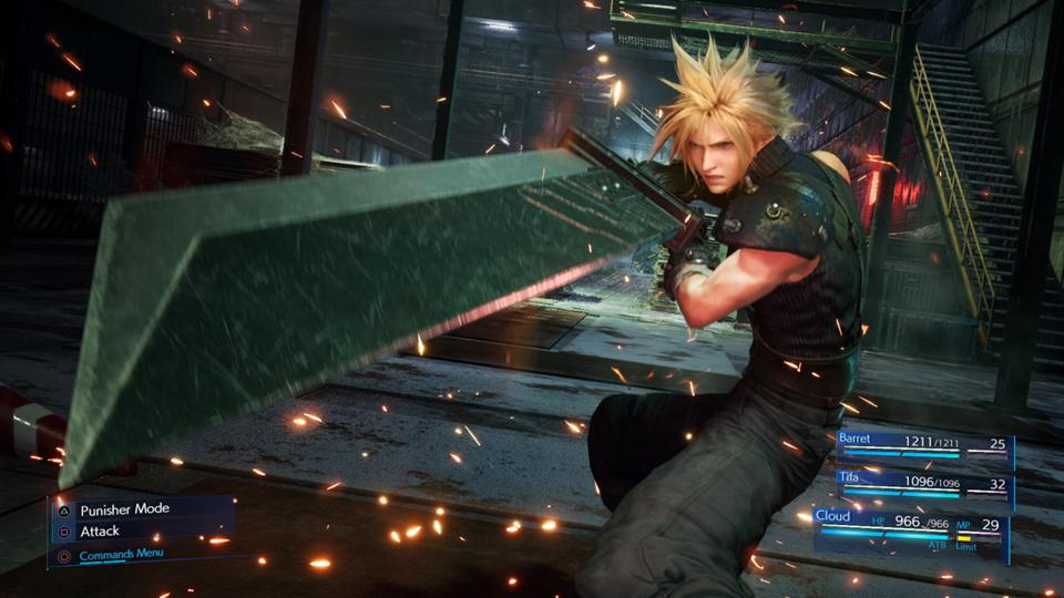 Final Fantasy VII Remake' Will Include A 'Classic' Gameplay Mode