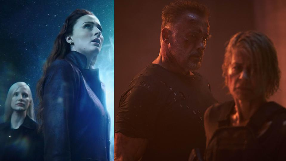 'X-Men: Dark Phoenix' and 'Terminator: Dark Fate'