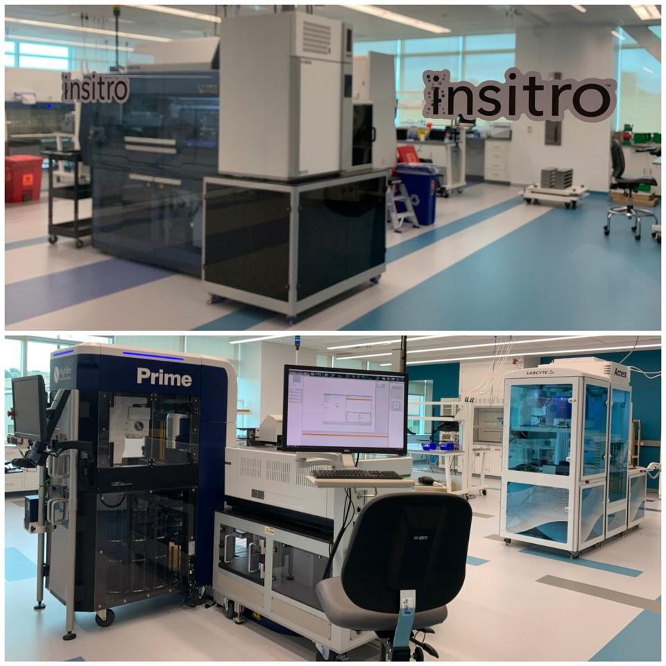 A peek inside Insitro's South San Francisco lab