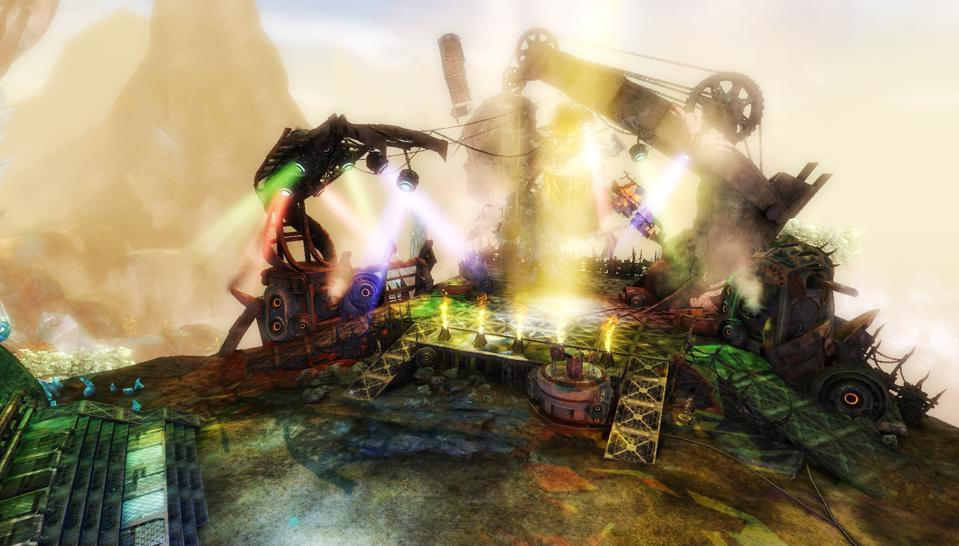 The epic Metal Legion stage from Bound By Blood in Guild Wars 2.