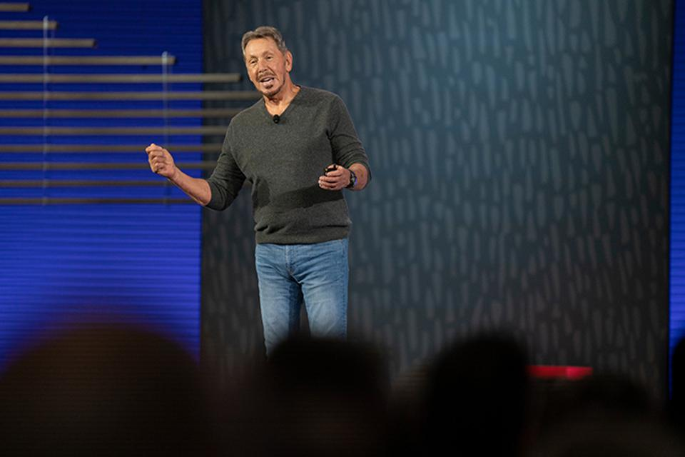 Oracle Chairman and CTO Larry Ellison details the benefits of autonomous systems during Oracle OpenWorld 2019.