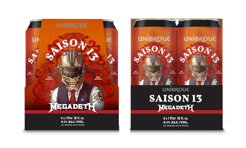 Playing Off Another Hit, Megadeth's Second Craft Beer Starts Selling In The U.S.