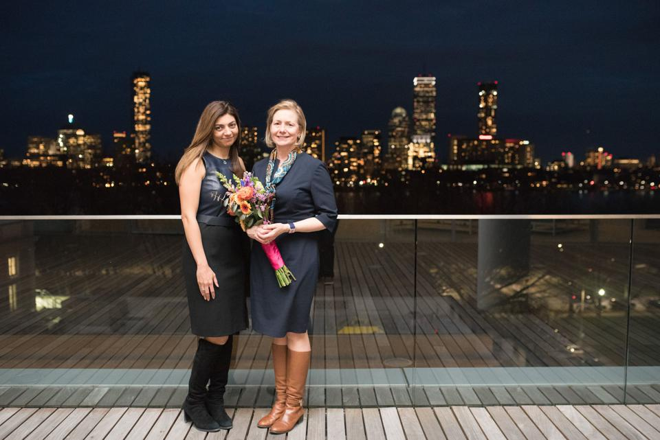Affectiva cofounders Rana el Kaliouby and Rosalind Picard