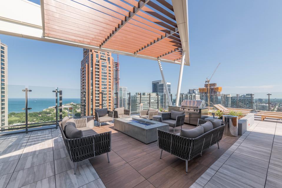 Eleven40's top-floor pool deck