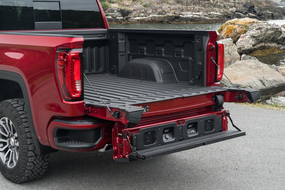 GMC Sierra MultiPro tailgate