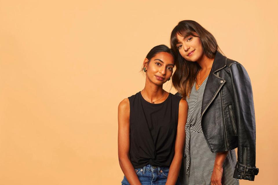 Blume's founders, sisters Taran & Bunny Ghatrora