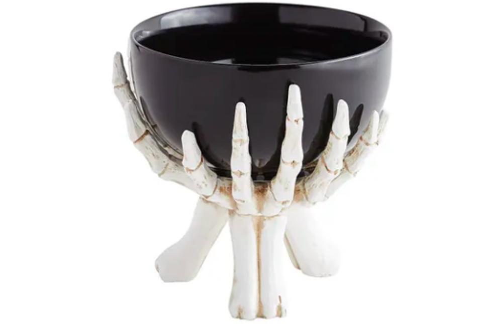 Skeleton Hand Serve Bowl