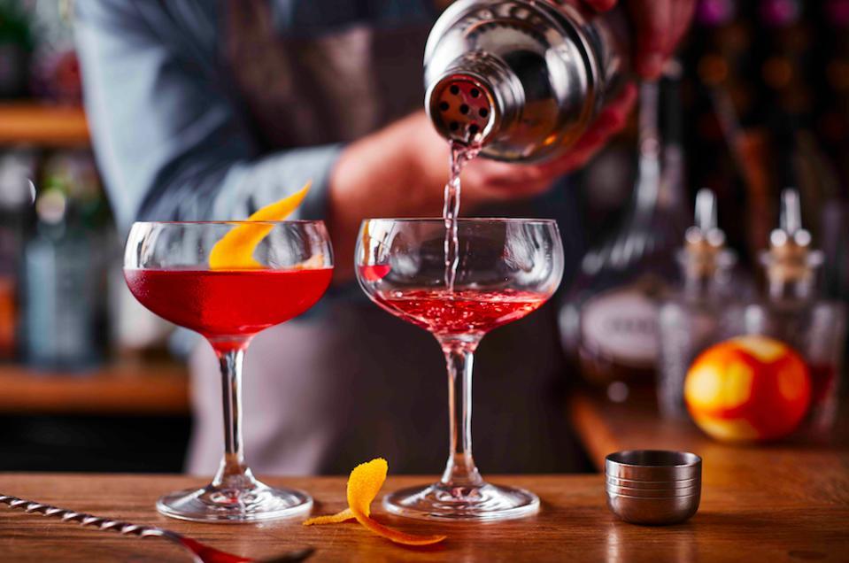 Tudor Farmhouse cocktail