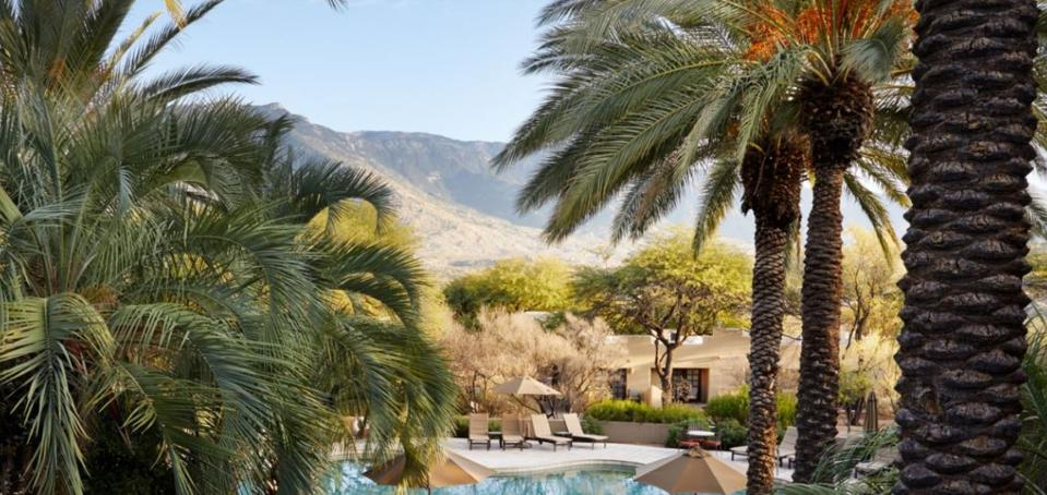 Miraval Tucson is located in a stunning desert setting