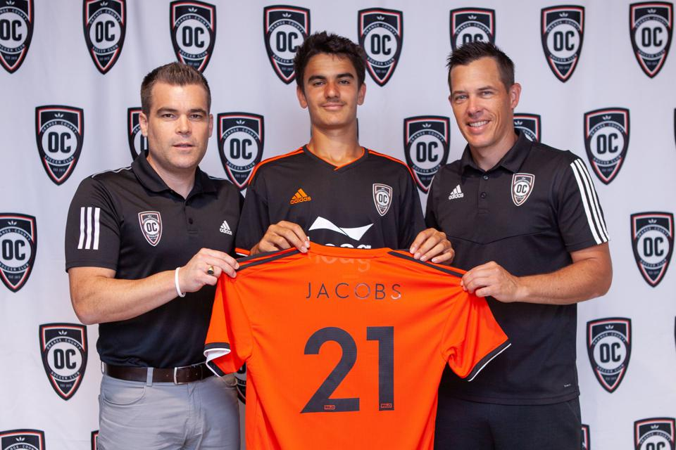 Why Orange County SC Made Francis Jacobs, 14, The Youngest Male Soccer Pro