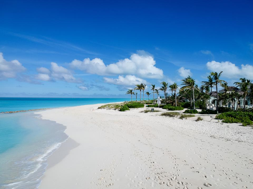 Grace Bay - number one of the top ten best beaches in the world