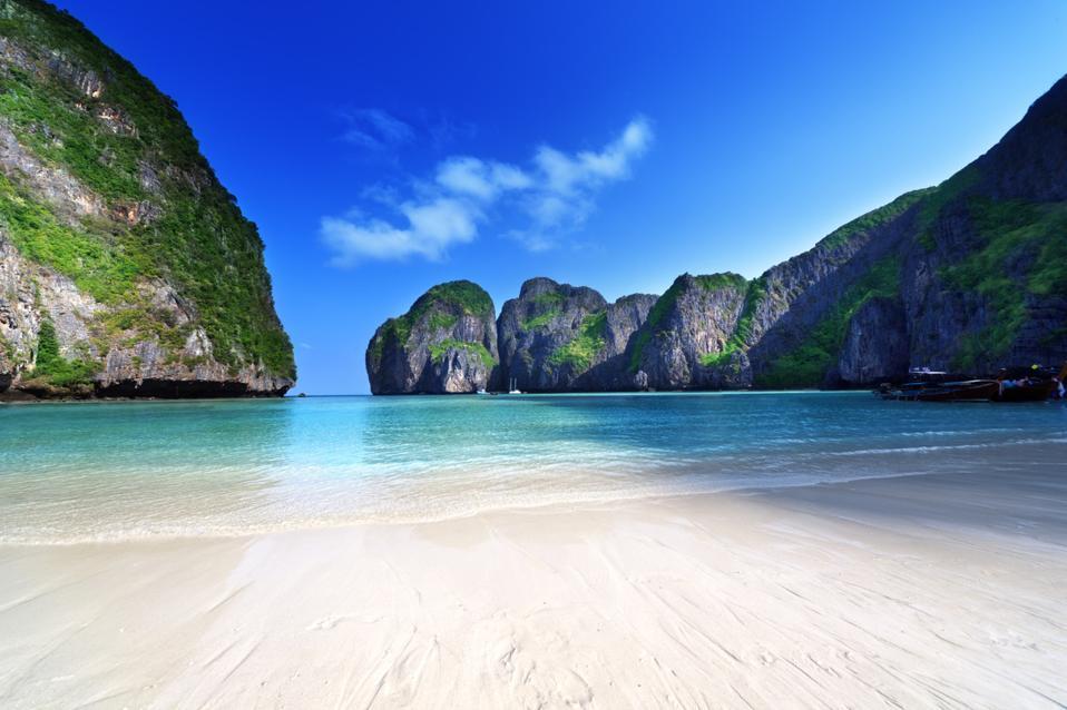 Maya Bay Thailand - top ten best beaches in the world
