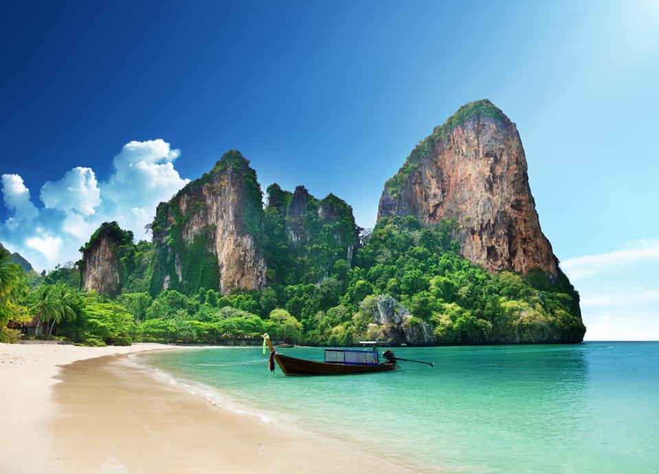 Railay Beach - top ten best beaches in the world