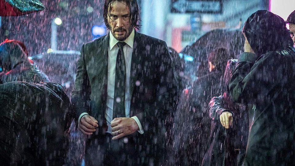 Keanu Reeves in 'John Wick: Chapter 3'