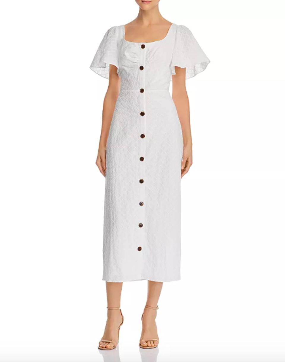 leRumi Olivia Button-Down Midi Dress