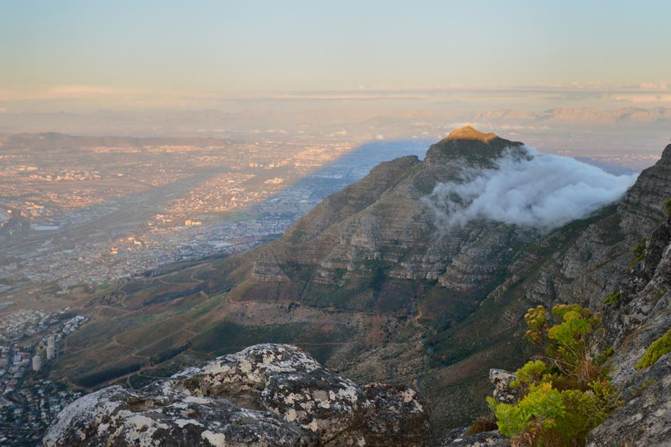 View from Table Mountain south africa