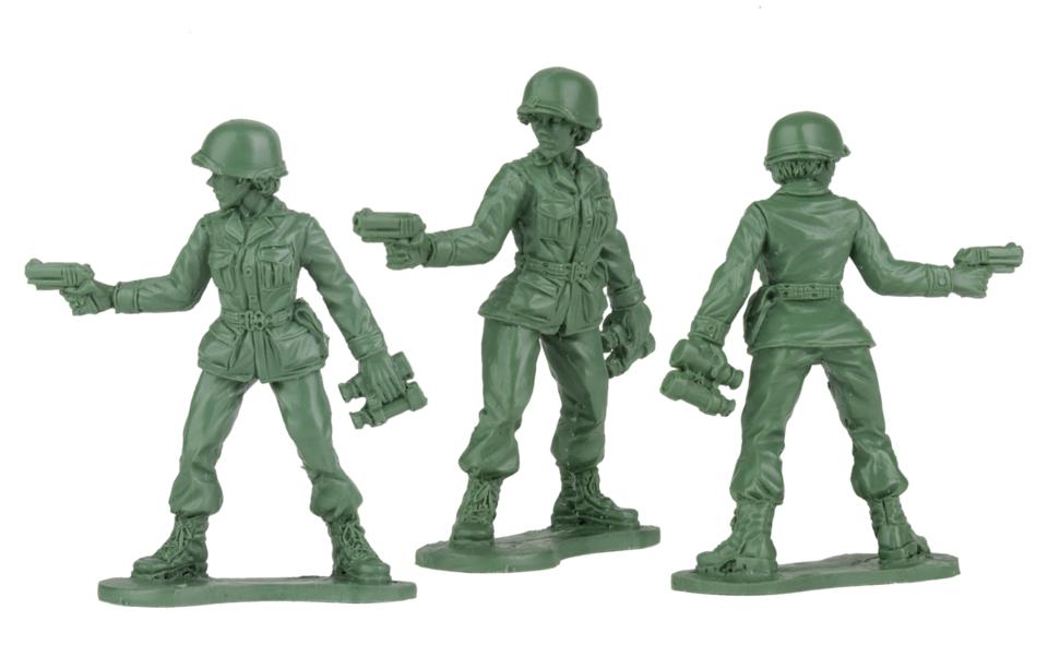 BMC Toys will be creating plastic army women in time for Christmas 2020.