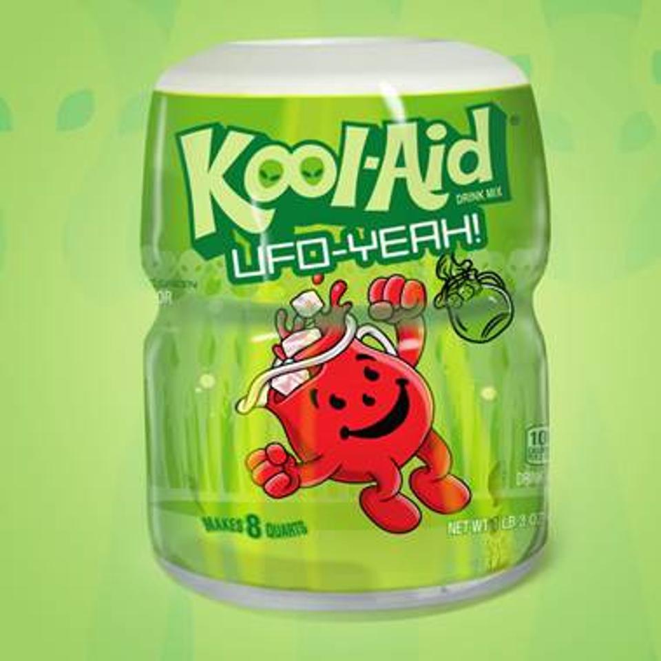 Kool-Aid UFO-Yeah canister