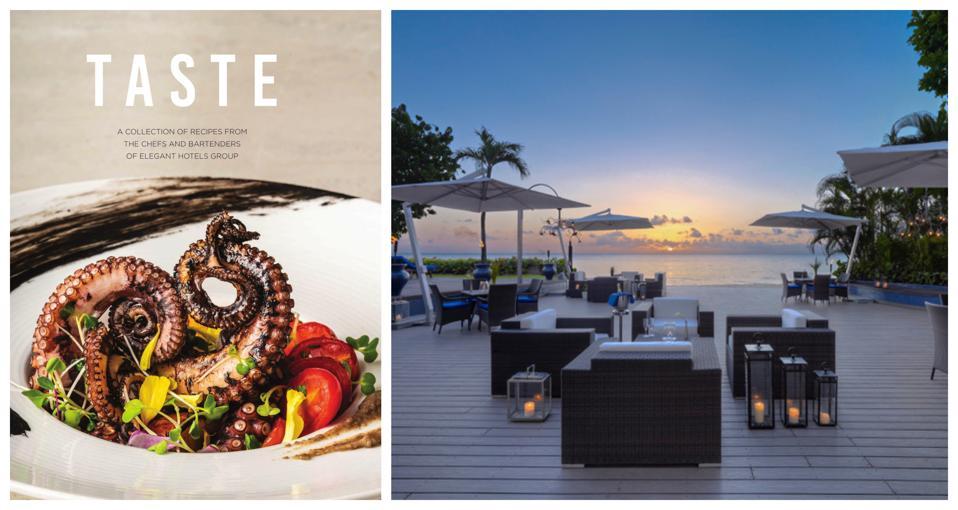 hotel cookbooks elegant hotels barbados