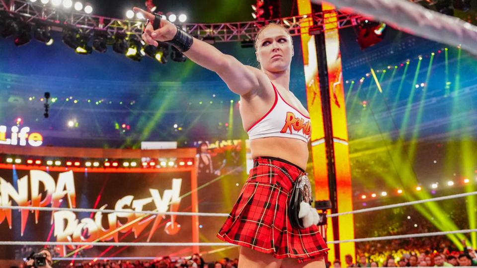 Ronda Rousey at WrestleMania
