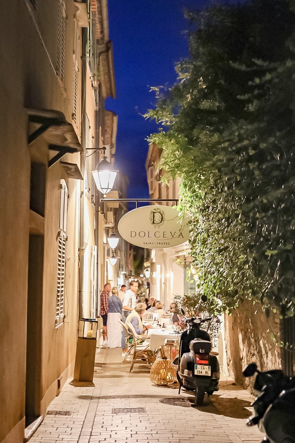 ST. TROPEZ - View of Dolceva